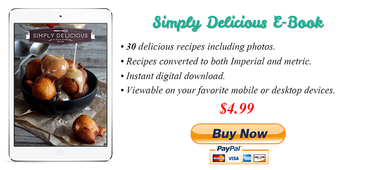Simply Delicious Recipe E-Book Vol1