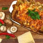 Cheesy Mushroom Lasagna
