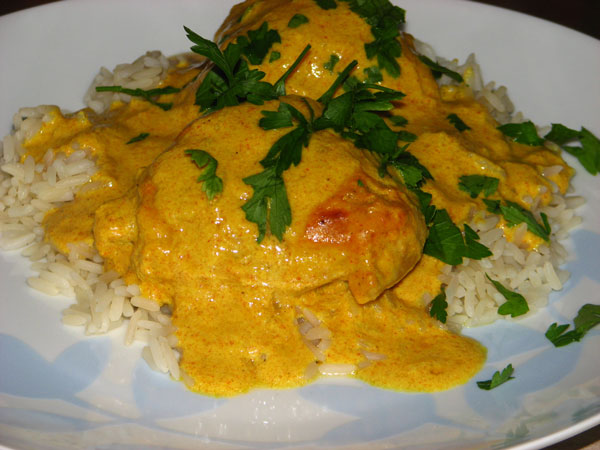 Curried Chicken Bake