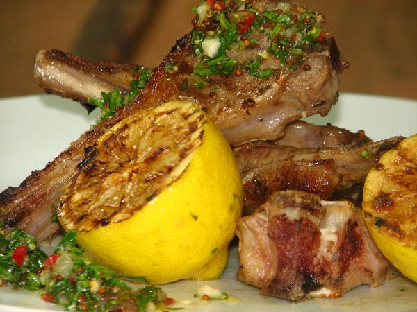 Lamb-Chops-With-Salsa-Verde
