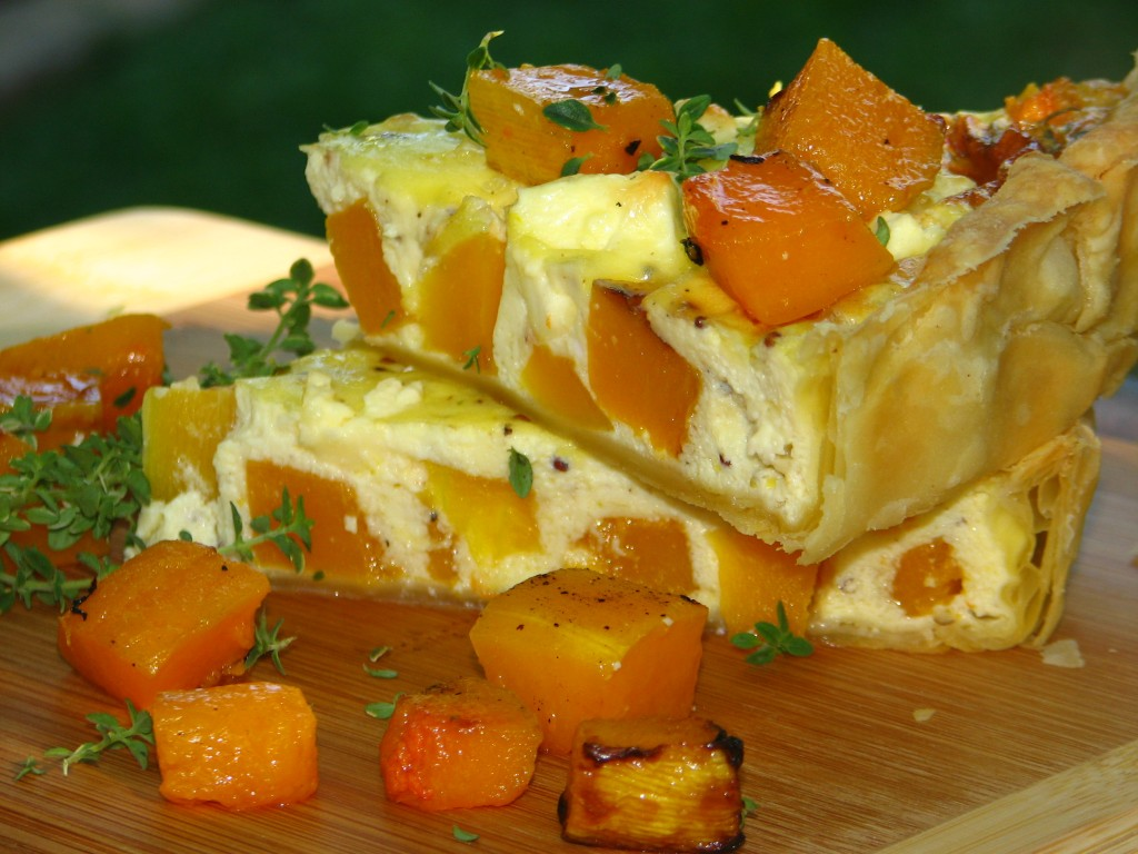 Butternut & Feta Quiche