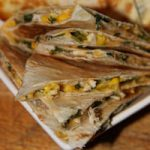 Chicken, Corn & Spinach Quesadillas
