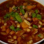 Spicy Chorizo & Bean soup