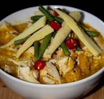 Chunky Chicken & Veg Soup