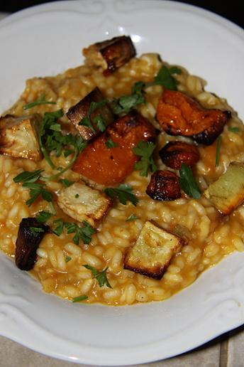 Roasted Roots Risotto