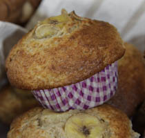 Banana & Bran Muffins