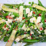 Warm Spring veg salad