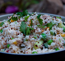 Tuna Rice Salad & Antony Worral Thompson Low GI Book Competition