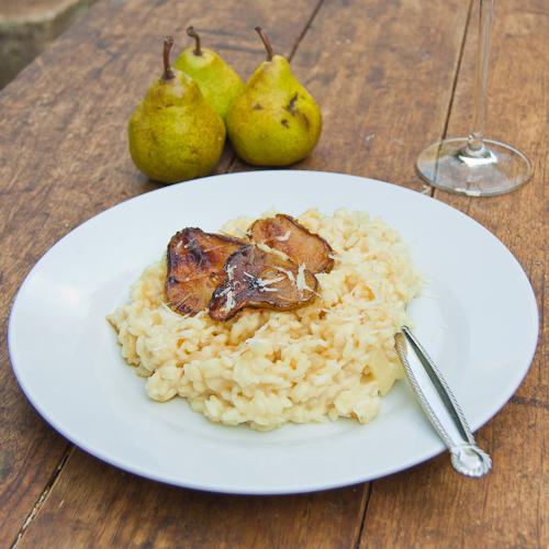 Gorgonzola & Pear Risotto