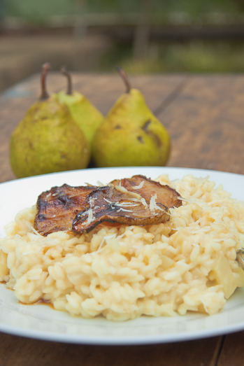 Gorgonzola & Pear Risotto