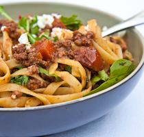 Summery Spaghetti Bolognese