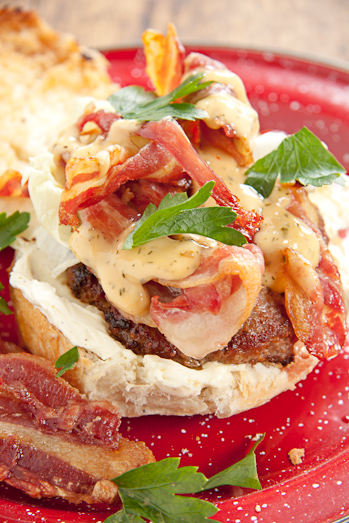 Bacon & Cream Cheese Burger