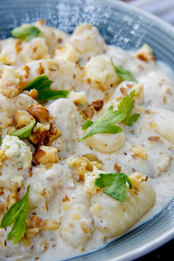 Gnocchi with Gorgonzola and Walnuts