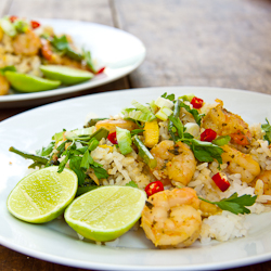 Thai Fried Rice with Prawns