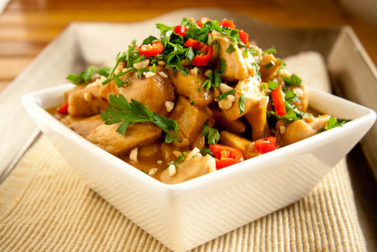 Peanut Chicken Curry
