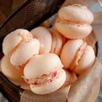 White Chocolate & Raspberry Macarons