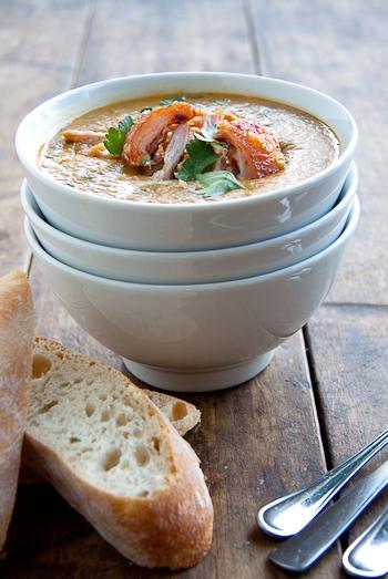 Roast Pork & Split Pea Soup