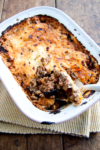Moussaka with Roasted Aubergine