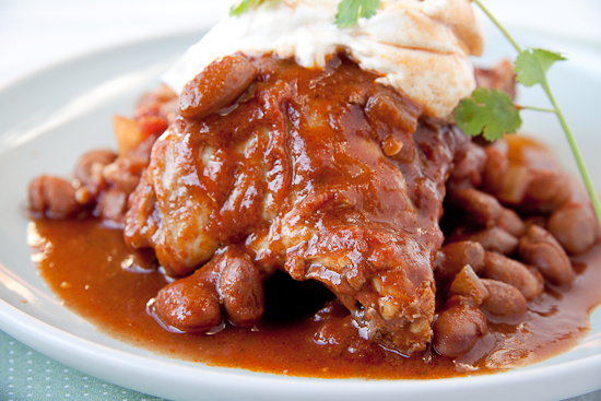 Mexican Chicken & Bean Stew