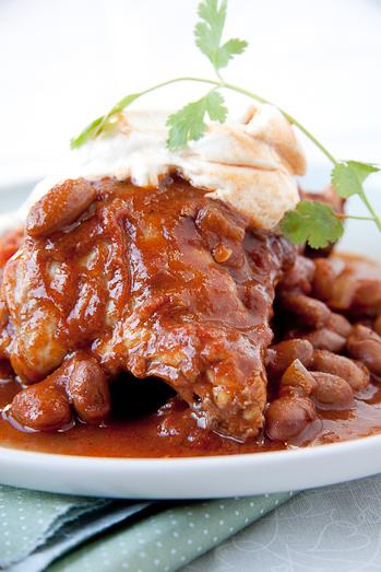 Mexican Chicken & Bean Stew