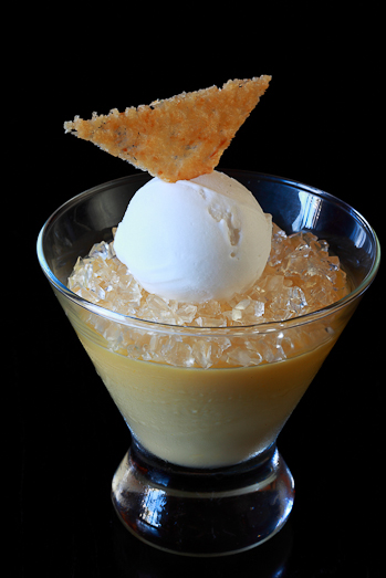 Nobu One&Only Cape Town - Passion Fruit Brulee
