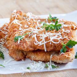 Pecorino Crumbed Chicken
