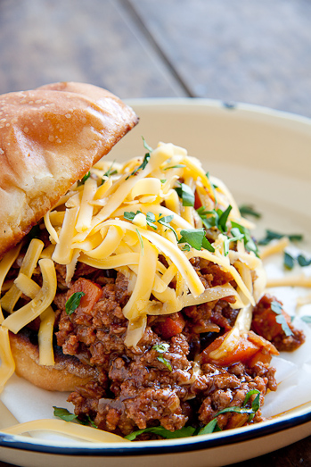 Vegetable Loaded Sloppy Joe's