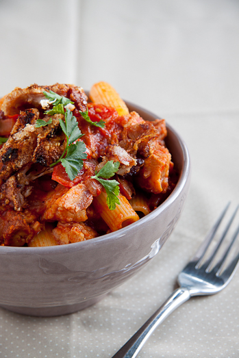 Pasta and leftover pork recipes