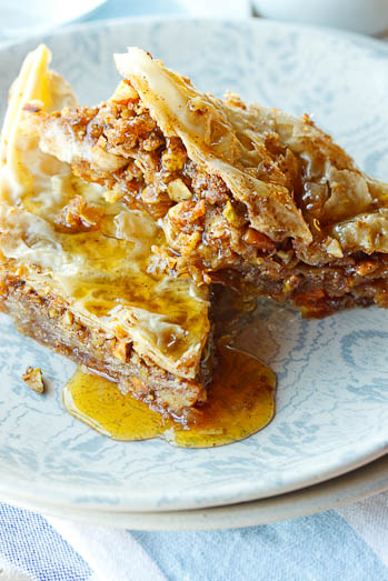 Baklava with Pistachios & Fynbos Honey