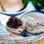 Chicken liver Pâté with caramelised onions and easy melba toast