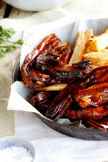 Sticky Asian Lamb Riblets