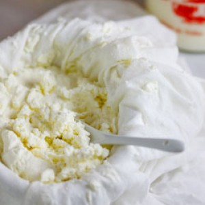 Home-made Ricotta cheese
