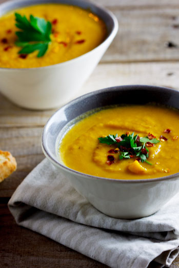Roasted butternut & Pear Soup