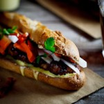 Caramelised Pork Bahn Mi