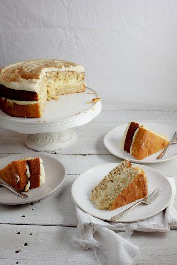 Milk Tart Layer Cake