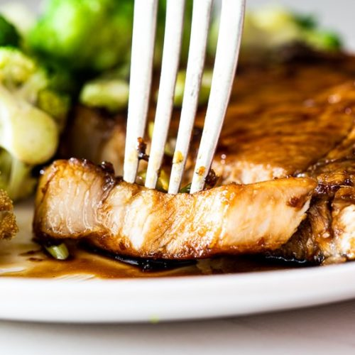 Sticky Honey Soy Pork Chops Simply Delicious
