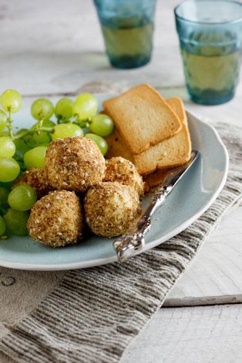 Gorgonzola & Candied Walnut truffles