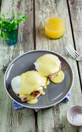 Eggs Benedict with Gammon