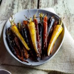 Festive Side Dishes: Duck Fat roast Potatoes & Honey-Cumin roasted Carrots