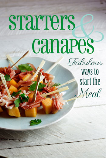 A simply delicious christmas pdf simply delicious starters canapes forumfinder Image collections