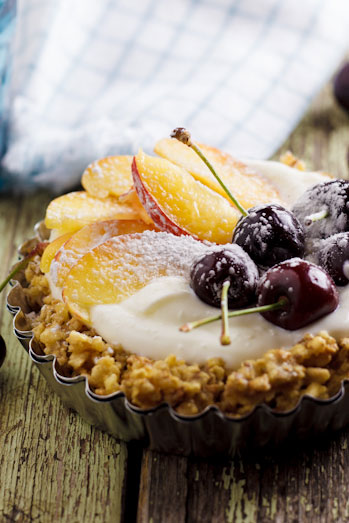 Fruit & Yoghurt tart
