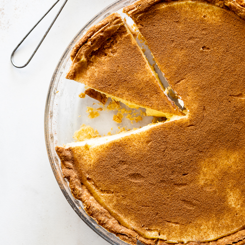 South African Milk Tart Recipe Simply Delicious