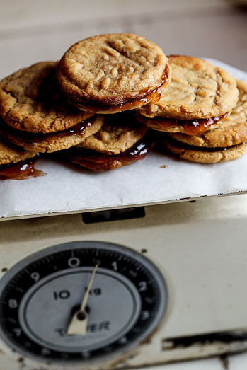 PB&J Cookie Sandwiches