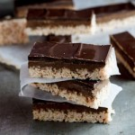 Peanut butter chocolate rice krispie bars