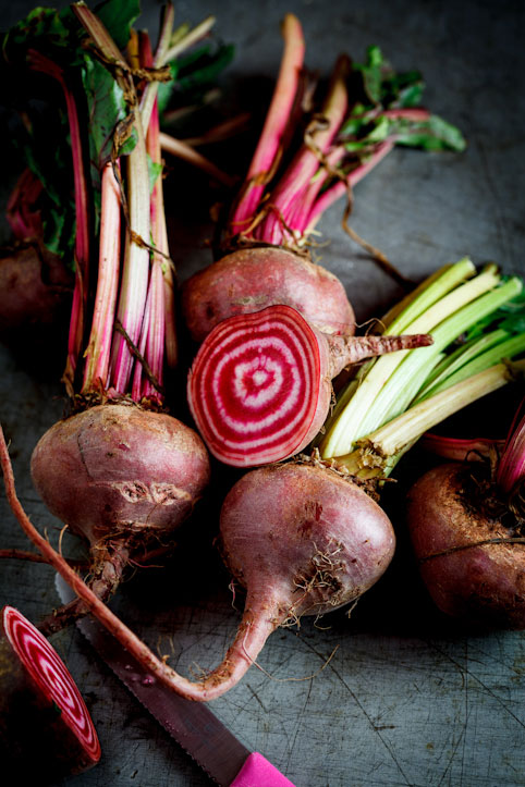 Candy-stripe beetroot
