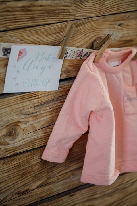 Baby clothing bunting