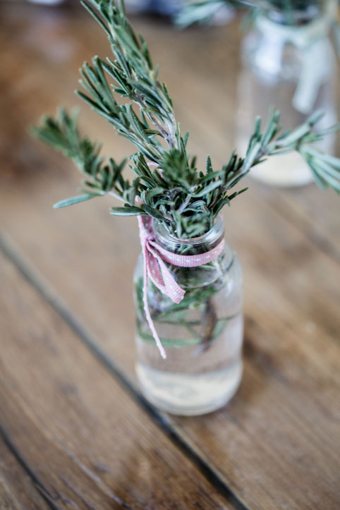 Rosemary centrepiece