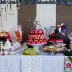 An enchanting Alice in Wonderland party table