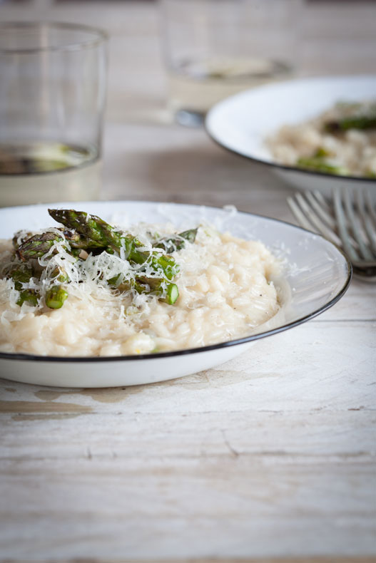 Grilled Asparagus & Lemon Risotto - Simply Delicious