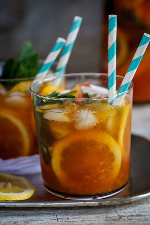 Rooibos peach punch